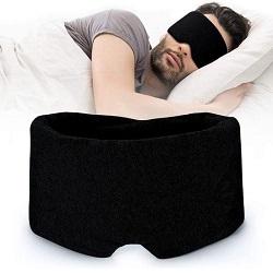 Nedoes zijden slaapmasker