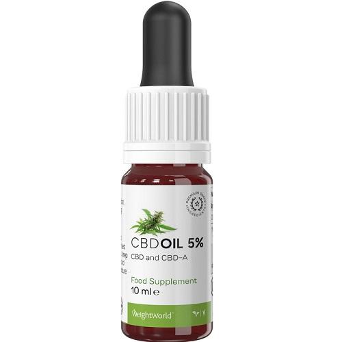 Biologische CBD Olie 5%